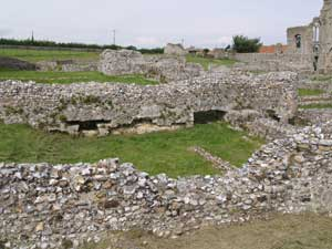 Dormitory & Undercroft looking West